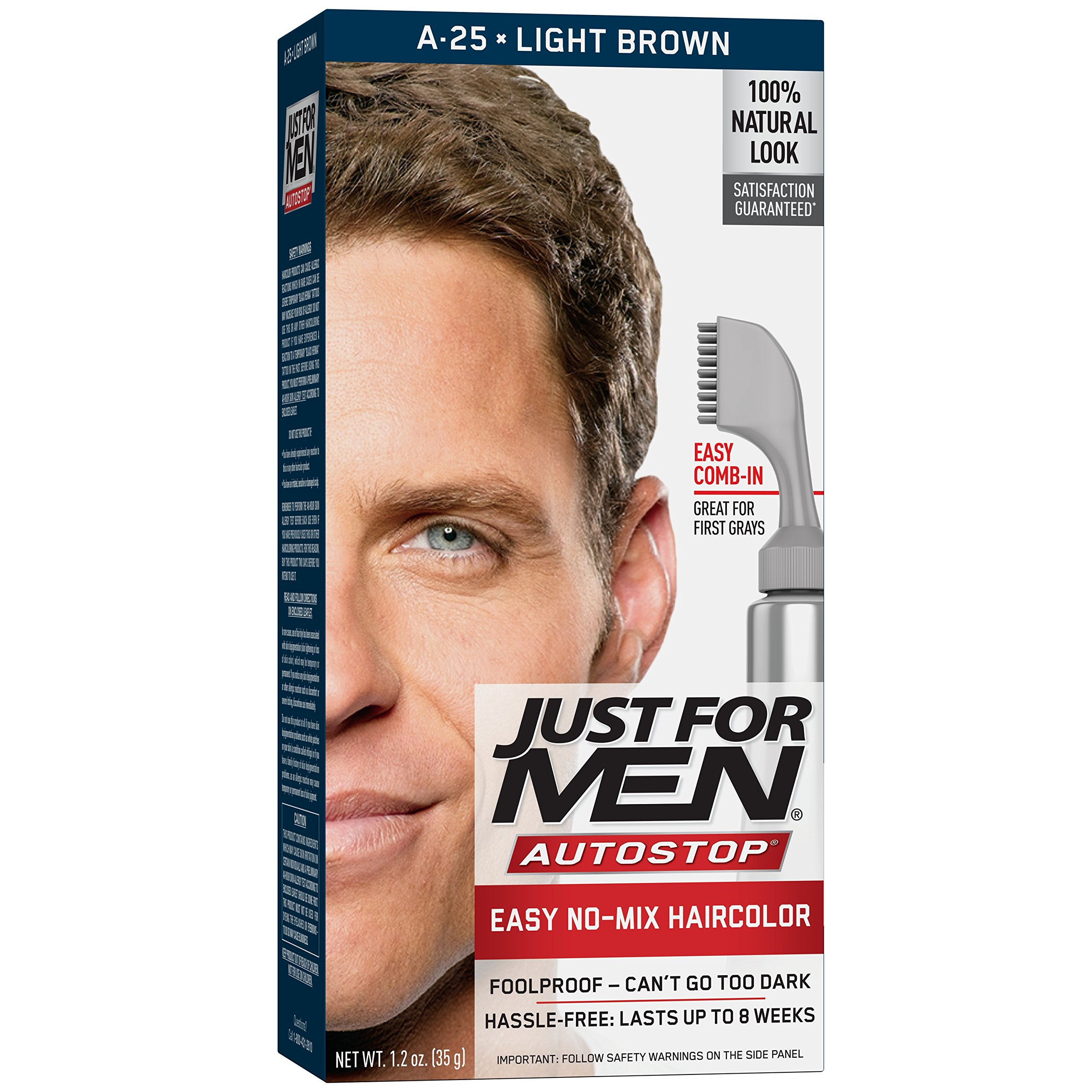 Amazon Just For Men Autostop Mens Comb In Hair Color Dark