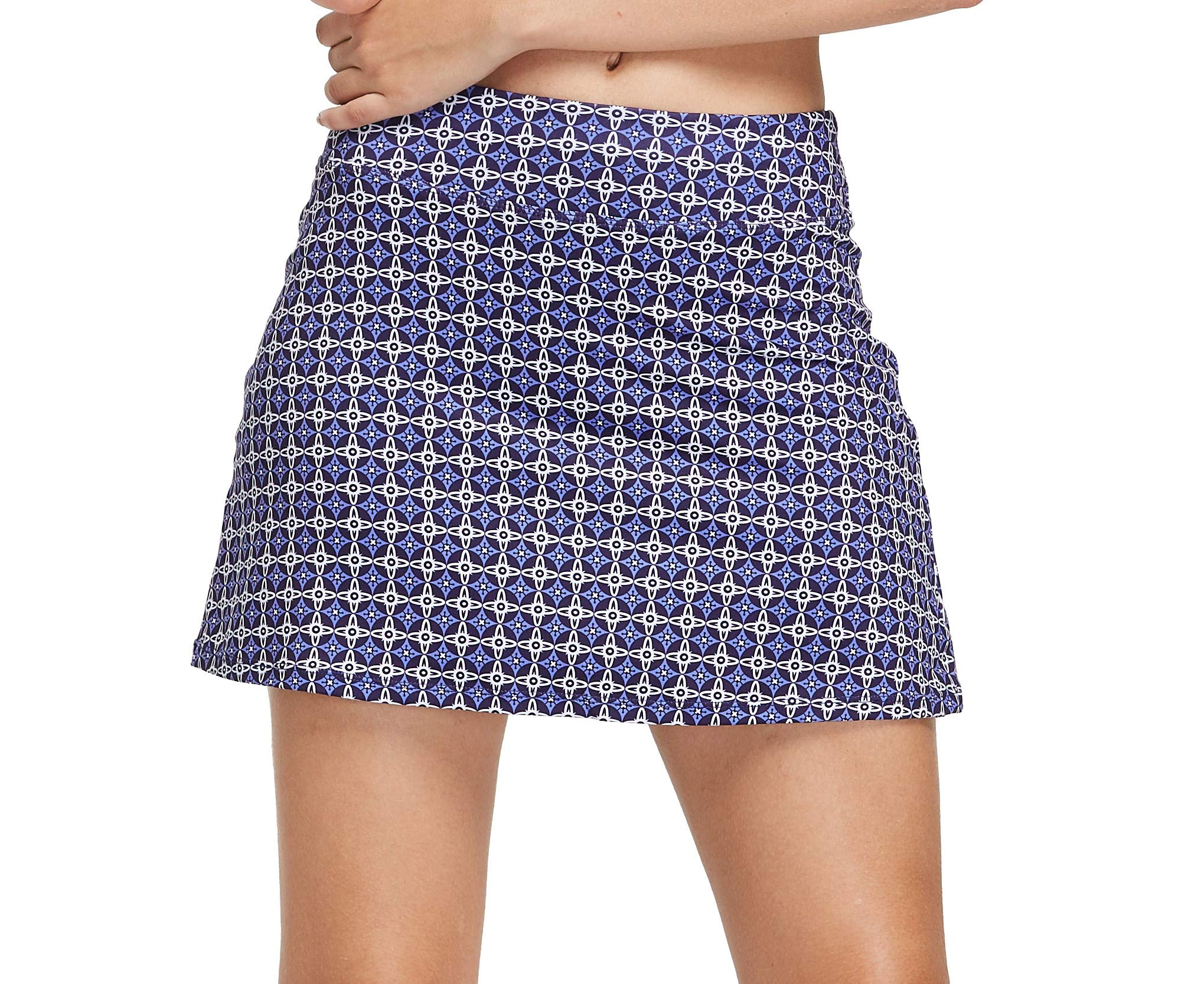 Cityoung Women's Casual Pleated Golf Skirt with Underneath Shorts Running Skorts XL p_xjpl by Cityoung