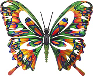 product image for Next Innovations Metal Wall Art - Multi Colored Butterfly, Butterfly Wall Décor, Small