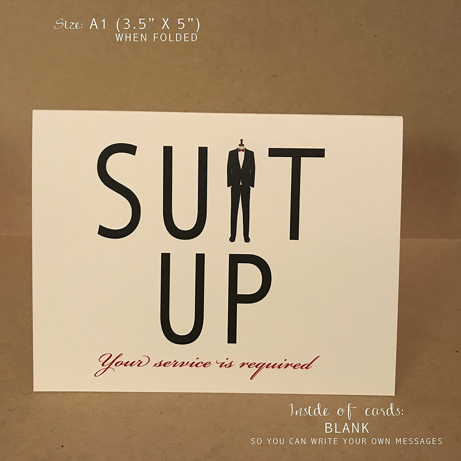 Will You Be My Groomsman Card Best Man Card Groomsmen Cards {Style 3 New}