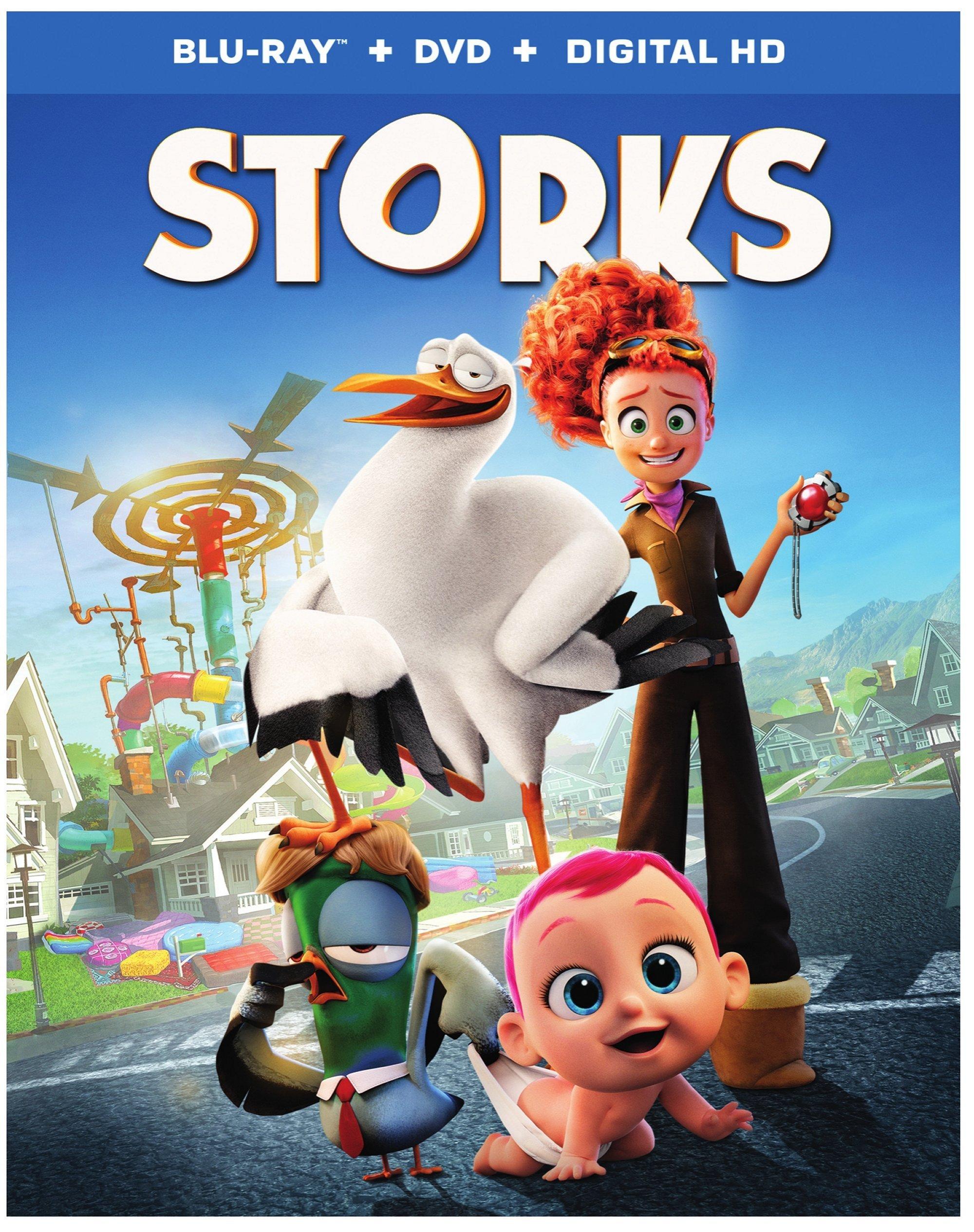 Storks DVD 0883929530380