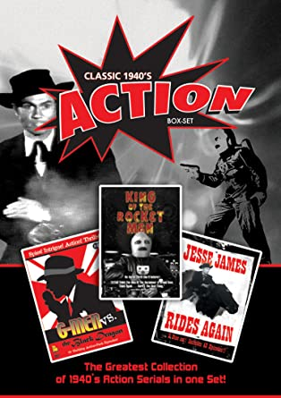 Amazon com: Classic 1940's Action Box Set: Classic 1940's Action