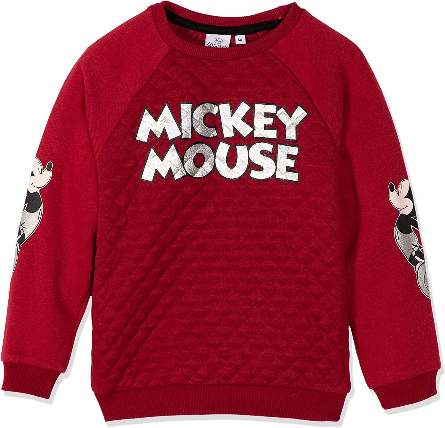 Disney Official Mickey Mouse Boys Fleece Joggers Trackpants Sweatshirts for Boys Red or Grey 2-8 Years