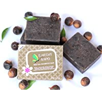 Earthy Sapo Reetha Shampoo Bar - Suitable For Dry Hair