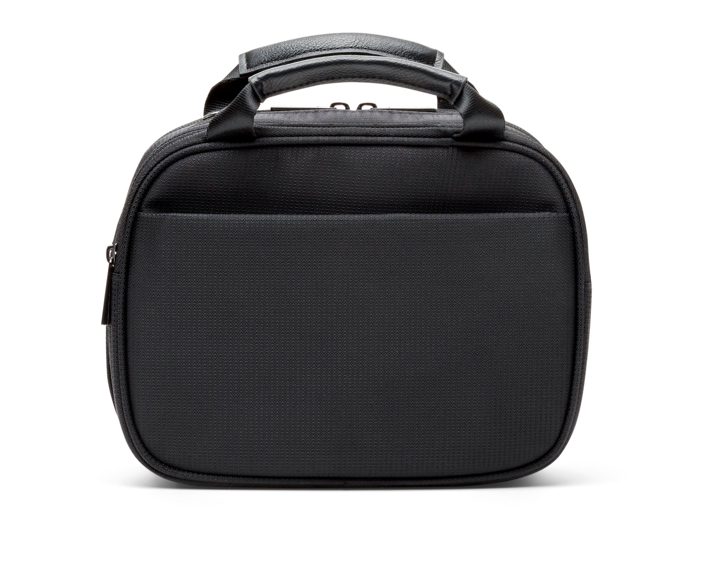 Myabetic Thompson Diabetes Travel Case For Glucose Monitoring Tools, Insulin Pens, Syringes, Etc Includes Insulation Lining - High Quality Materials (Black Nylon)