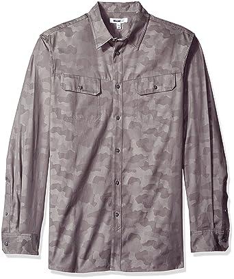 555d4d3303564 William Rast Men's Baker Button Down Shirt at Amazon Men's Clothing ...