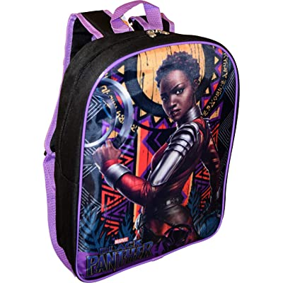 "Black Panther Nakia 15"" School Backpack: Clothing"