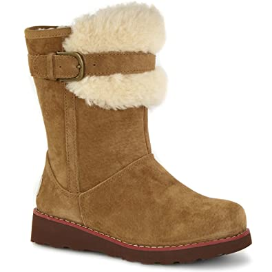 UGG Australia Girls Skylir Boot Chestnut Size 6 M US Big Kid