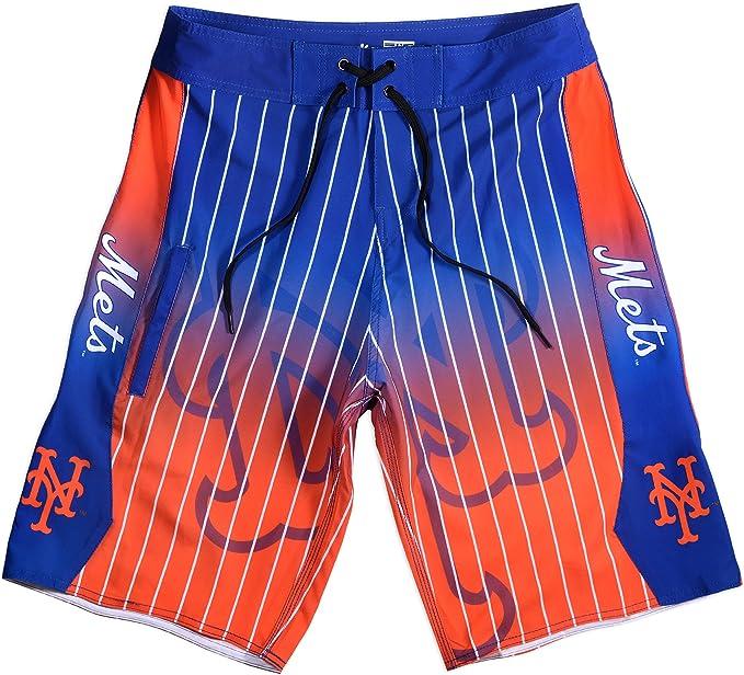 FOCO MLB Mens Gradient Polyester Shorts 2016 Edition