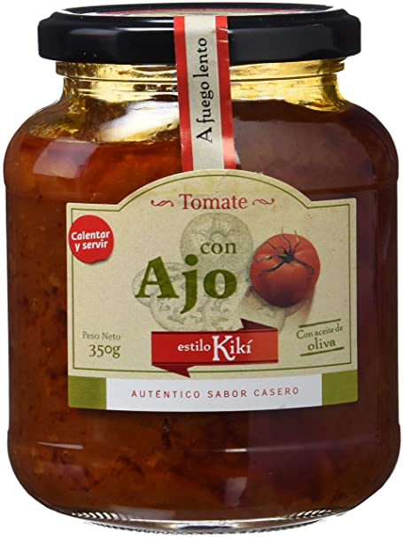 Estilo Kikí Tomate Frito con Ajo Gourmet - Paquete de 3 x 350 gr - Total