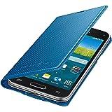 Samsung Original Etui Portefeuille pour Samsung Galaxy S5 Mini - Bleu