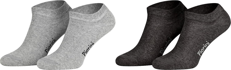 Tambi/én en tallas grandes Piarini Varios colores modernos y negro Calcetines cortos unisex