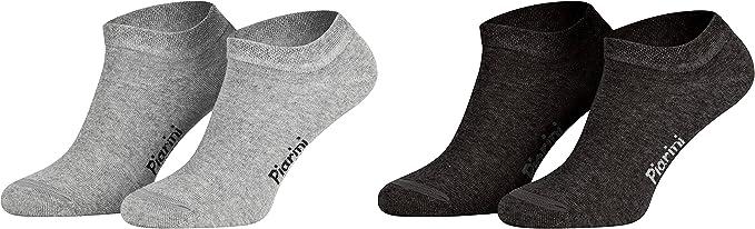 8 Paar Sneaker-Socken Baumwolle Füßlinge kurze Sportsocken in Gr 43-46 schwarz