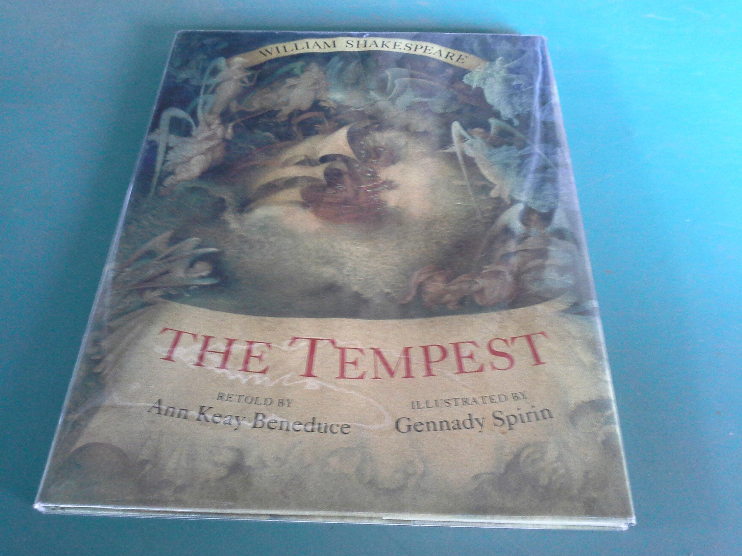 The Tempest Ann Keay Beneduce Gennady Spirin 9780399227646