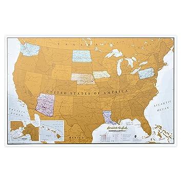 Amazoncom Scratch USA Scratch off places you travel America