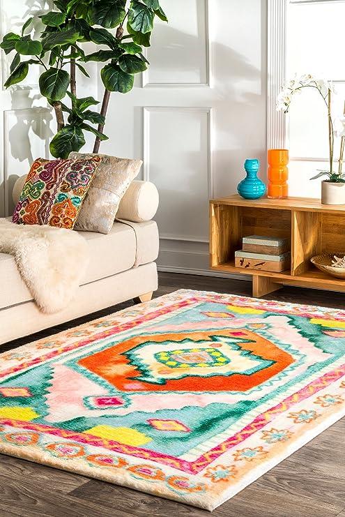 Amazon.com: nuLOOM Jacinth de transición alfombra de área ...