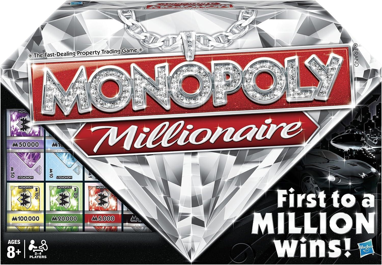 Hasbro Monopoly Millionaire: Amazon.es: Juguetes y juegos