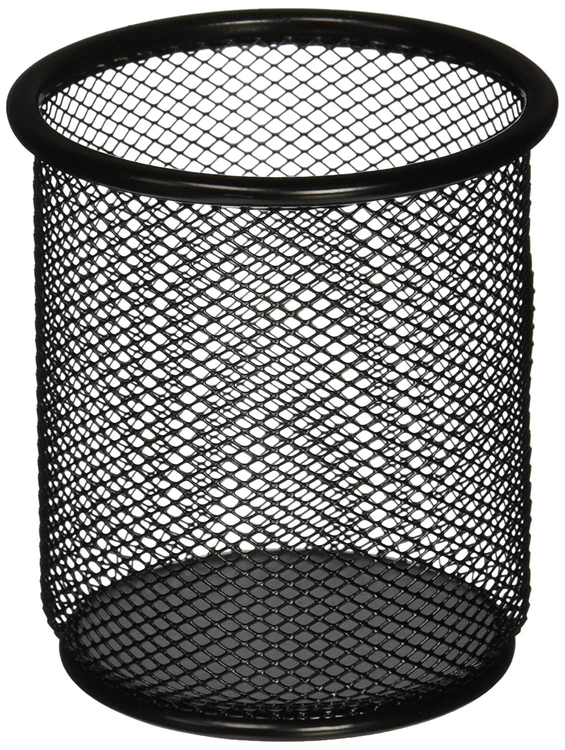 Amazon.com: Lorell LLR84149 Mesh Wire Pencil Cup Holder, Black: Home ...