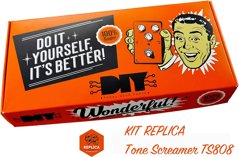 diypedalgearparts® Kit Replica Tone Screamer TS808