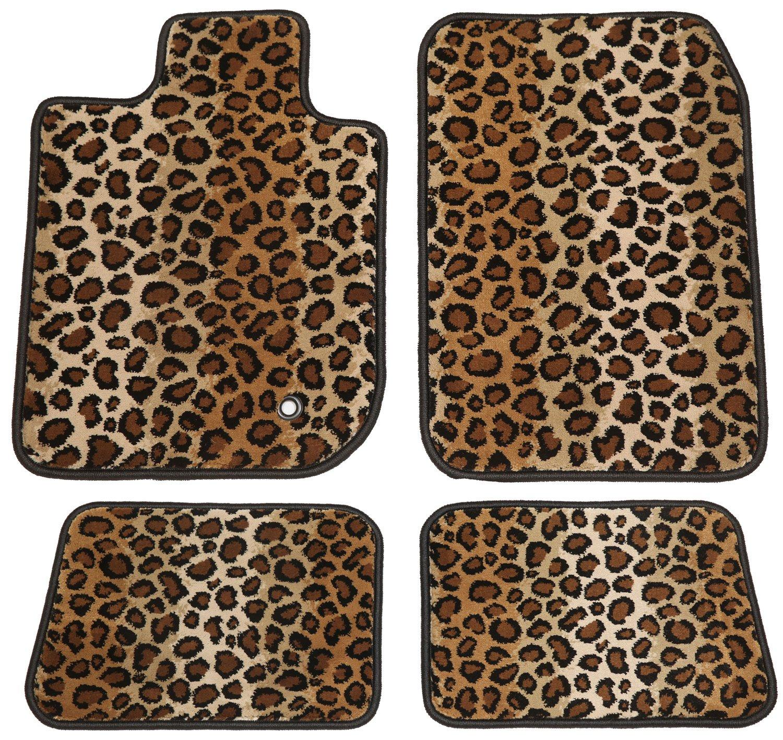 Leopard GG Bailey D4602A-S2A-LP Two Row Set Custom Fit Floor Mats for Select BMW 7 Series Models Polypropylene Fiber