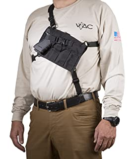 Amazon blackhawk universal spec ops pistol harness gun vtac big rig chest holster semi auto sciox Choice Image