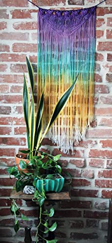 Macrame Wall Hangin- rainbow wall hangings