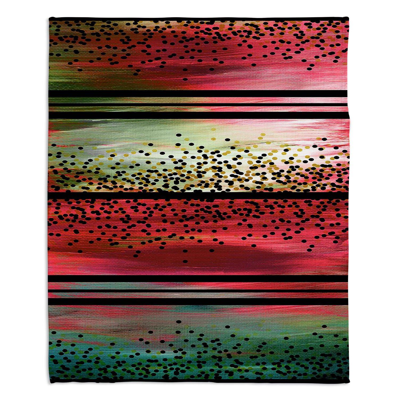 ブランケットウルトラソフトFuzzy 4サイズダイアノウチェデザインズ – Julia Di Sanoスイカシードホーム装飾寝室ソファスローブランケット Large 80