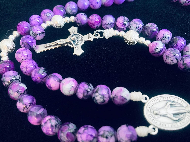 Royal Purple Rosary