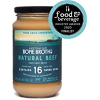 Australian Beef Bone Broth Concentrate,Natural Beef, Great Instant Soup Stock, Bone Broth Beverage, 375 grams