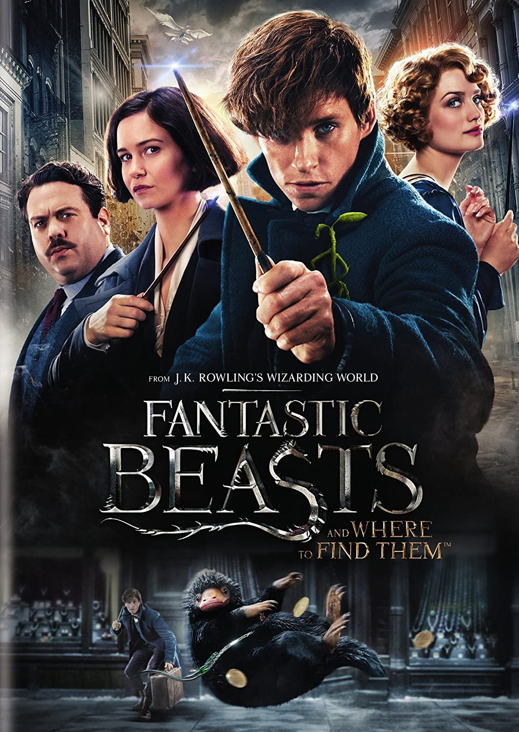 Amazon Com Fantastic Beasts And Where To Find Them Rental Exclusive Movies Tv