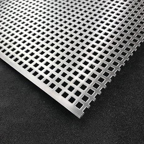 Edelstahl 1,5mm Zuschnitt individuell auf Ma/ß NEU g/ünstig Lochbleche Alu Stahl Verzinkt RV3-5-ALU-500 mm x 200 mm