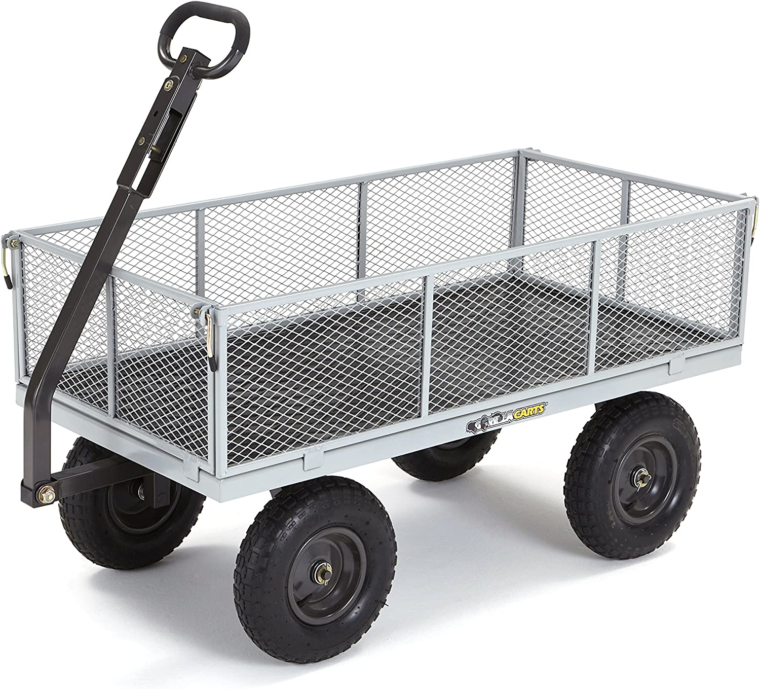 <strong>Gorilla Carts Heavy-Duty Steel Utility Cart</strong>