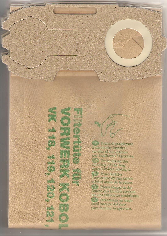 FW1 bolsas de aspiradora, piezas de repuesto, compatible con ...