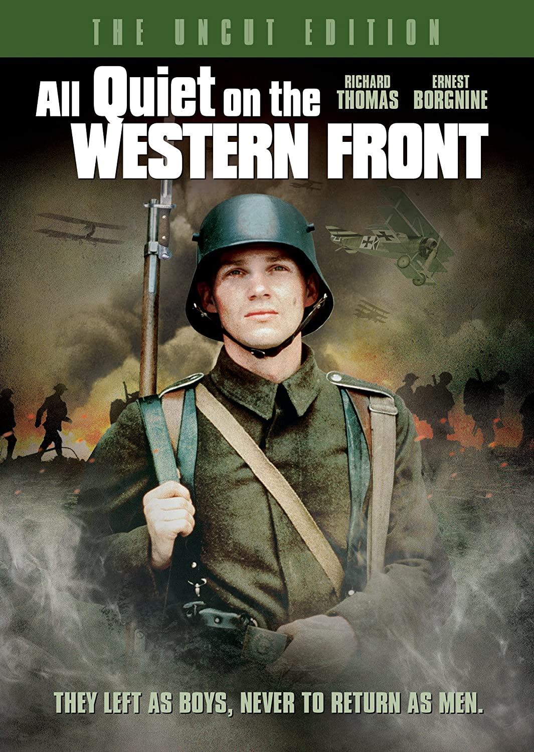 All Quiet On The Western Front - The Uncut Edition Richard Thomas Ernest Borgnine Ian Holm Donald Pleasence