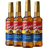 Torani Syrup, Classic Caramel, 25.4 Ounces (Pack of 4)