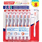 Colgate 360 Total Whole Mouth Clean Toothbrush, 8 Pack, Soft