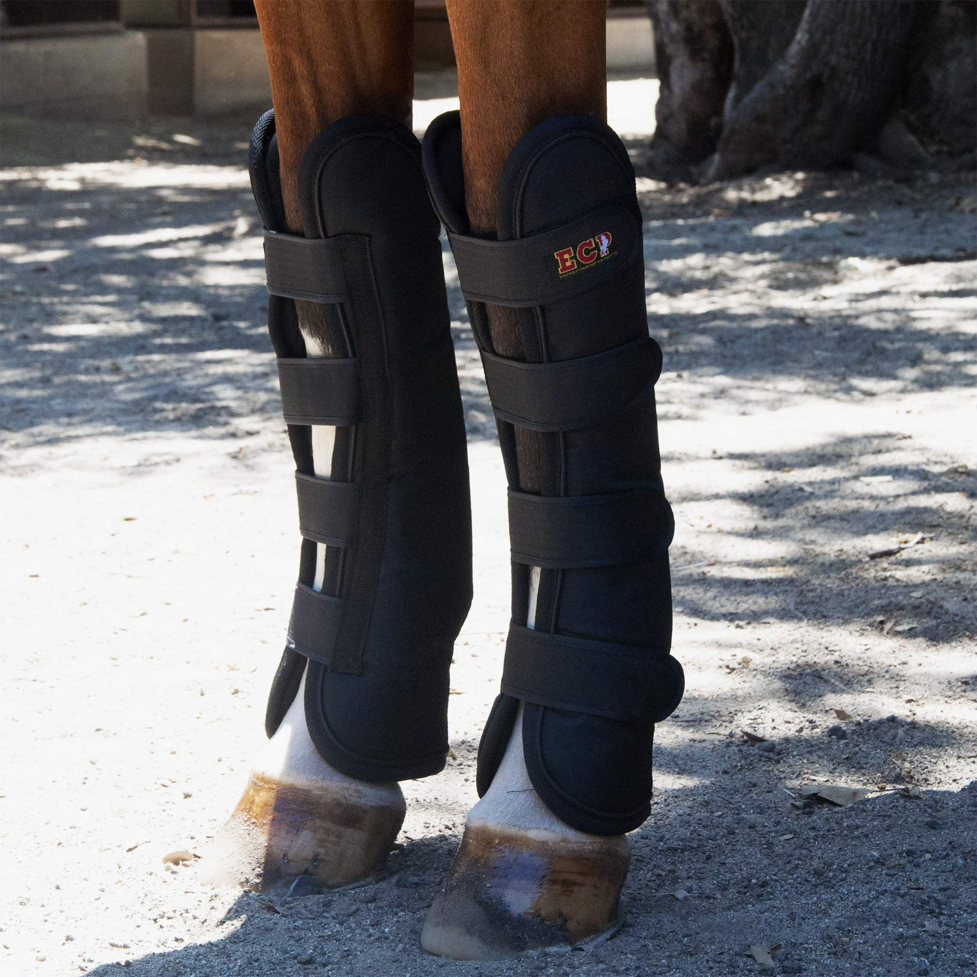 ECP Equine Comfort Products Far Infrared Heat Therapy Horse Front Leg Wraps - Large by ECP Equine Comfort Products (Image #7)