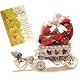 Skylofts Beautiful Horse Chocolate Gift with birthday card