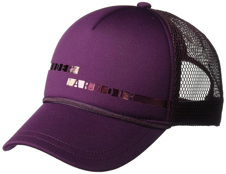 b0f1e02b857572 Amazon.com: Under Armour Women's Graphic Trucker Cap, Black (001)/Black,  One Size: Clothing