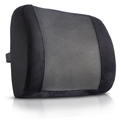 King Comfort Lumbar Support Pillow \u2013 Deluxe Lower Back Support Cushion for Chairs for Low Back  sc 1 st  Amazon.com & Amazon.com: King Comfort Lumbar Support Pillow \u2013 Deluxe Lower Back ... islam-shia.org