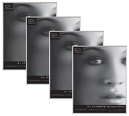adbe4fbc584 Amazon.com  Framatic Fineline 8x10 Inch Aluminum Frame (4pk)