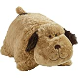 Pillow Pets Snuggly Puppy Stuffed Plush Toy for Sleep, Play, Travel, and Comfort - Great for Boys and Girls of All Ages - Soft and Washable