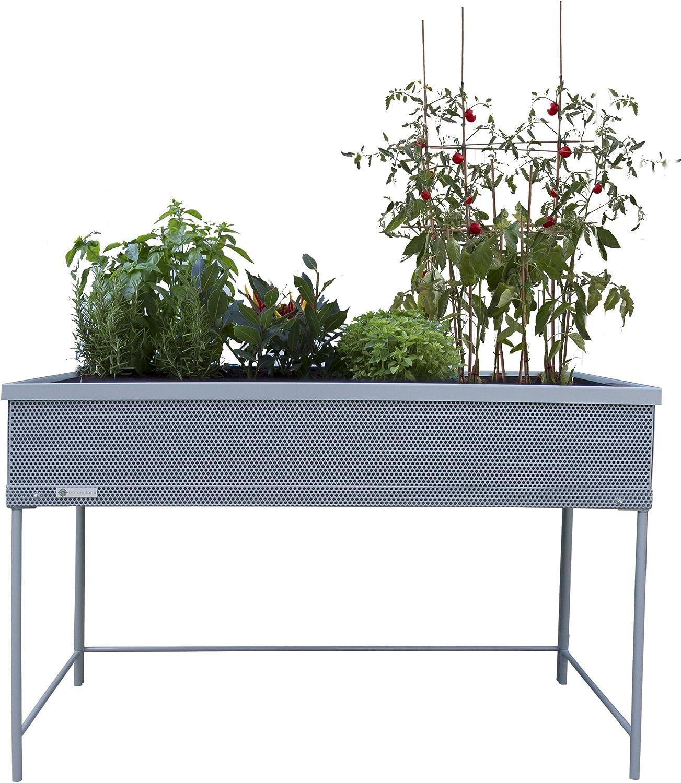 Huerto urbano Green Passion 120x58x80 cm.Color gris: Amazon.es: Jardín