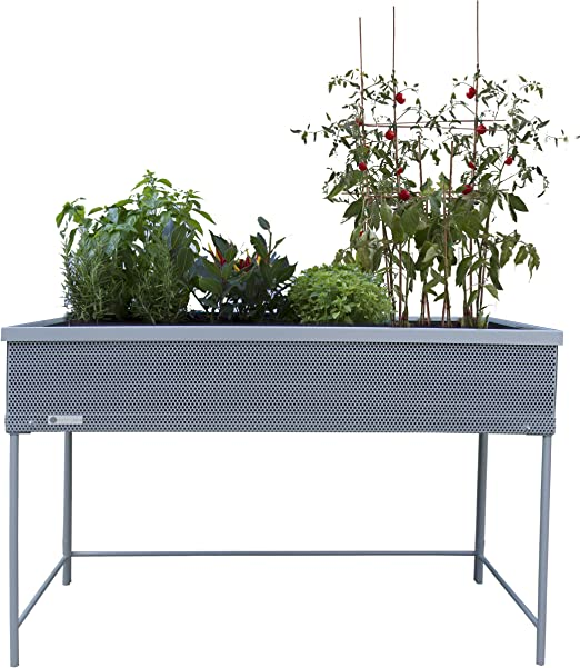 Huerto urbano Green Passion 120x58x80 cm.Color gris: Amazon.es: Jardín