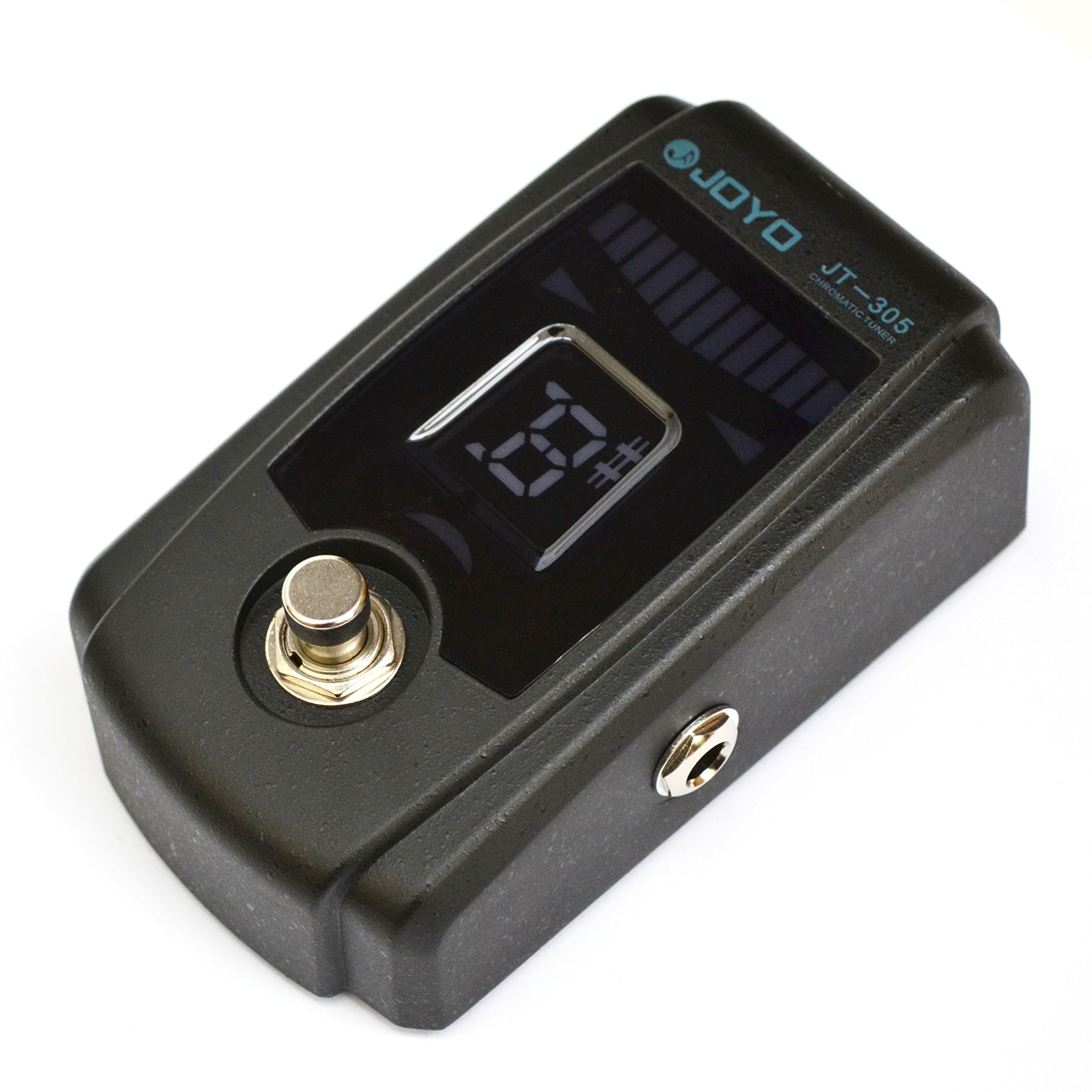 Joyo JT-305 Guitar Bass Chromatic Pedal Tuner, True Bypass, 4 Display Modes by Pink Lizard Products