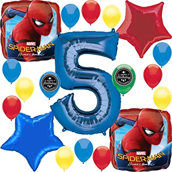 Amazon.com: Spider Man Party Supplies Choose Your Own Age ...