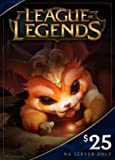Software : League of Legends $25 Gift Card - 3500 Riot Points - NA Server Only [Online Game Code]