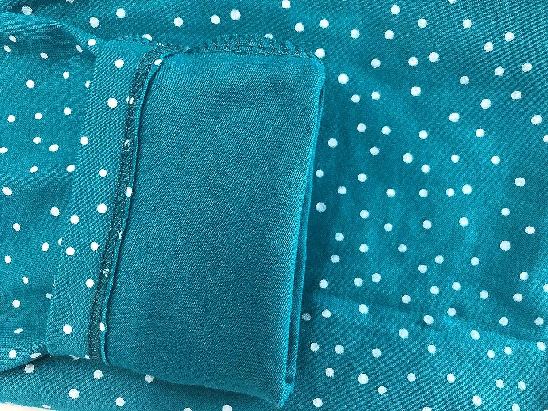 VIKITA M/ädchen Baumwolle Langarm Streifen Tiere T-Shirt Kleid 1-6 Jahre