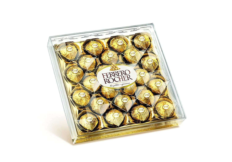 Amazon.com : Ferrero Rocher - 24 Chocolates Box - 300g : Grocery ...