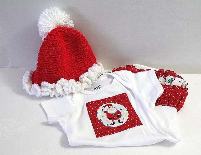 979253ed0 Amazon.com  Onesie Ruffle Butt and Hat Baby Girl Gift Set Size 12 ...
